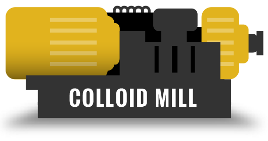 Step 2: Colloid Mill